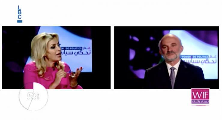 """الحلقة العاشرة من برنامج """"عم نحكي سياسي"""": مناظرة بين سعدى حليمة ورياض الأسعد"""